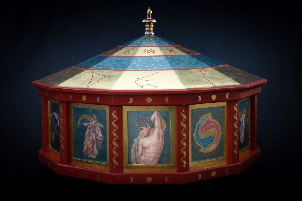 Catherine Lucas Gilded Rotating Carousel